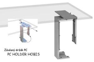 Zavesny drzak PC, PC HOLDER HOBIS