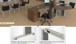 Pracovni stoly FLEX
