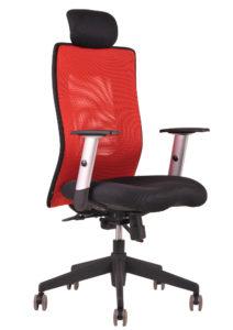 Židle Calypso XL SP4 s hlavovou opěrkou