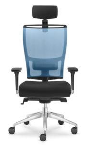 Židle LyraNet 201 přední pohled