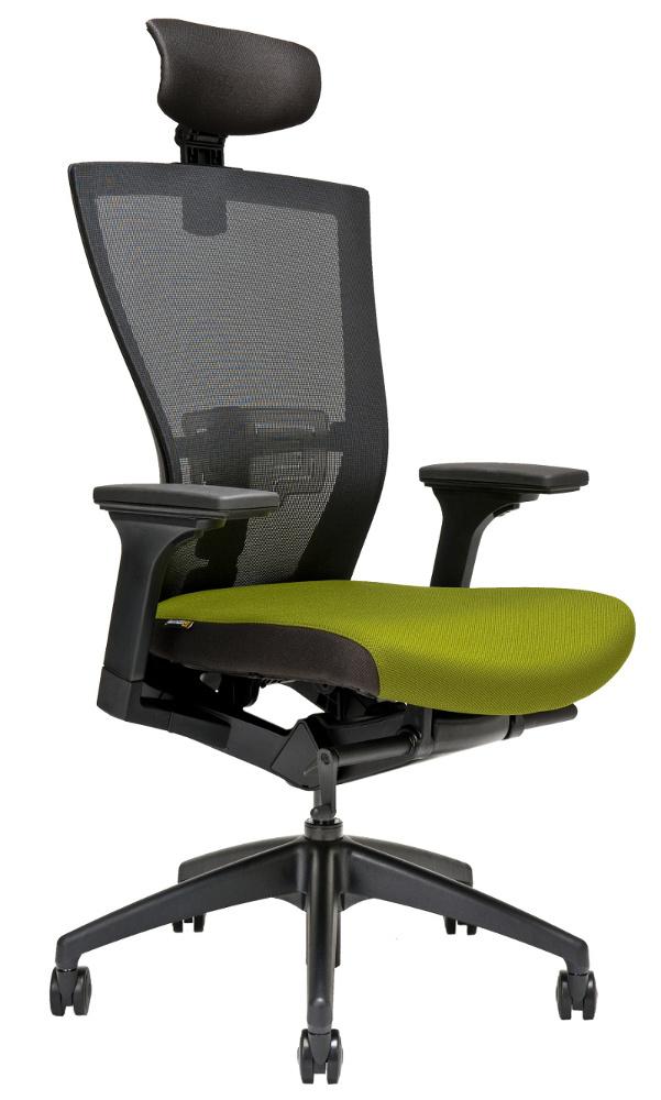 Židle síťovaná Merens s podhlavníkem