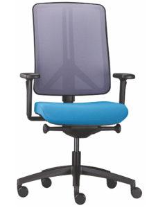 židle Flexi modrý sedák