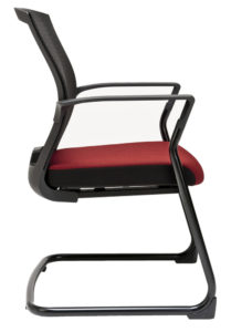 Jednací židle Merens meeting boční pohled
