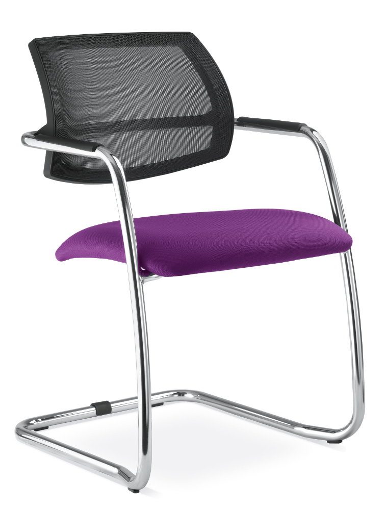 Konferenční židle Onyx 038 fialová