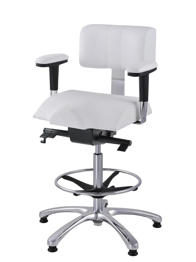 Ergonomická zvýšená, laboratorní, židle Therapia iMEDI