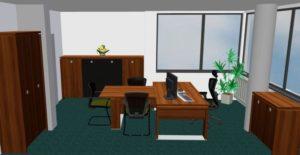 Grafický návrh kanceláře RADA NÁBYTEK