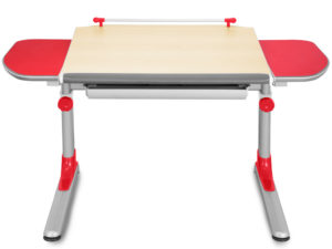 Profi3 stůl javor s červenými boky