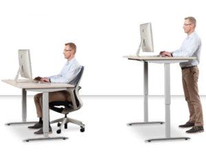 Výškově stavitelné stoly
