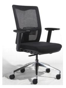 Židle X2 bez podhlavníku, se síťovanou opěrou zad