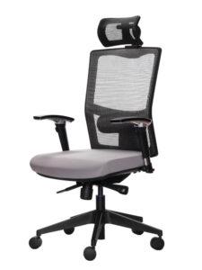 židle X5P se síovanou opěrou zad