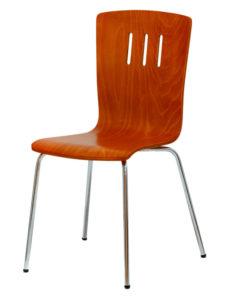 Dřevěná židle DORA, moření třešeň
