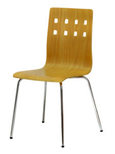 Dřevěná židle NELA, moření BUK