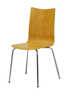 Dřevěná židle RITA, moření buk