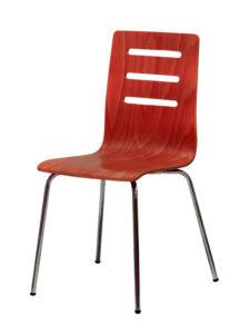Dřevěná židle TINA, moření třešeň