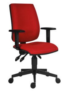 Kancelářská židle 1380 ASYN s područkami BR06