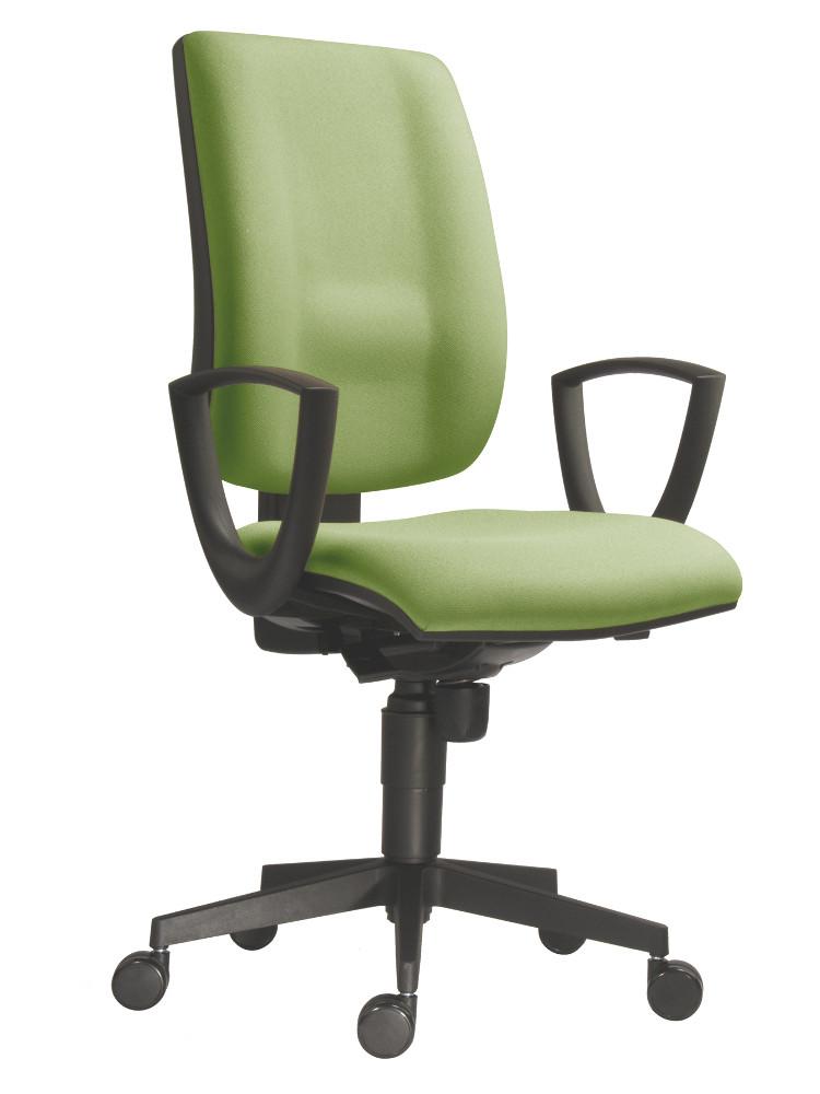 Kancelářská židle 1380 SYN s pevnými područkami