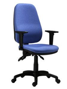 Kancelářská židle Antares, model 1540 ASYN, modrý potah
